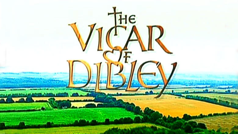 Vicar of Dibley title screenshot.